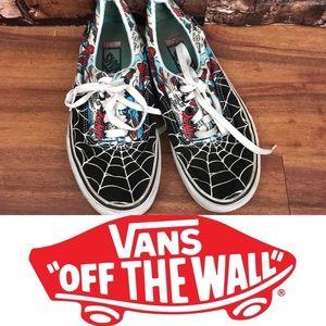 Vans Limited Edition Marvel Spider-Man Shoes
